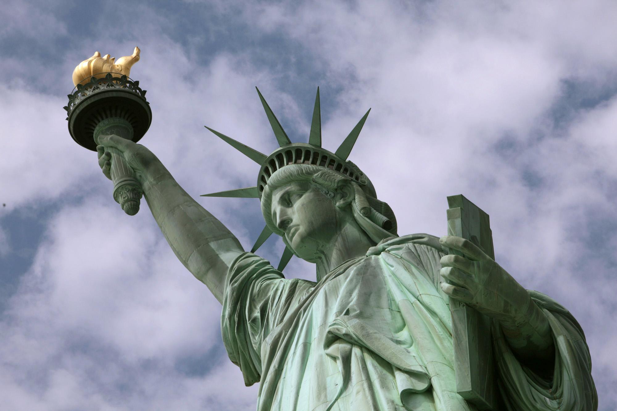 مجسمهی آزادی نیویورک و انتخابات امریکا